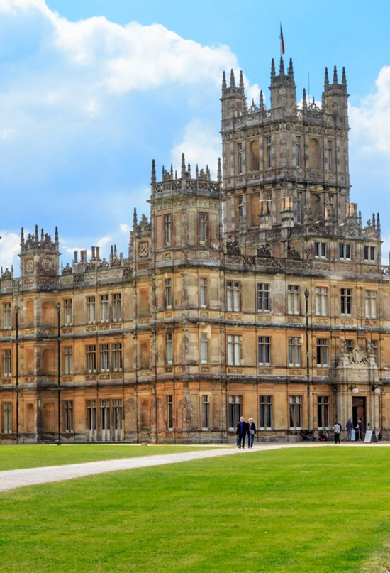 El castillo de 'Downton Abbey'