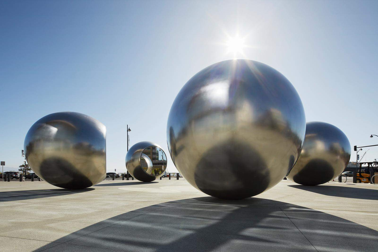 Seeing Spheres, Chase Centre, San Francisco