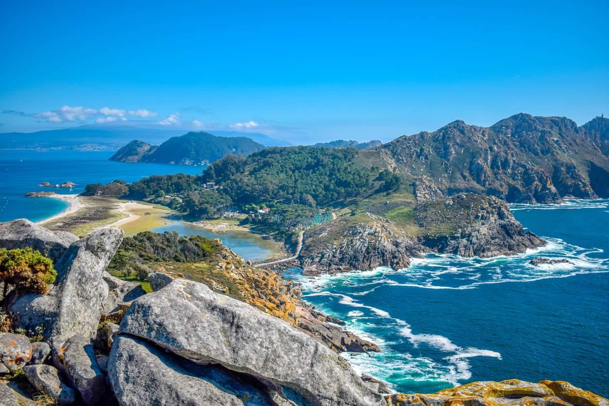 Resultado de imagen de parque nacional islas atlanticas