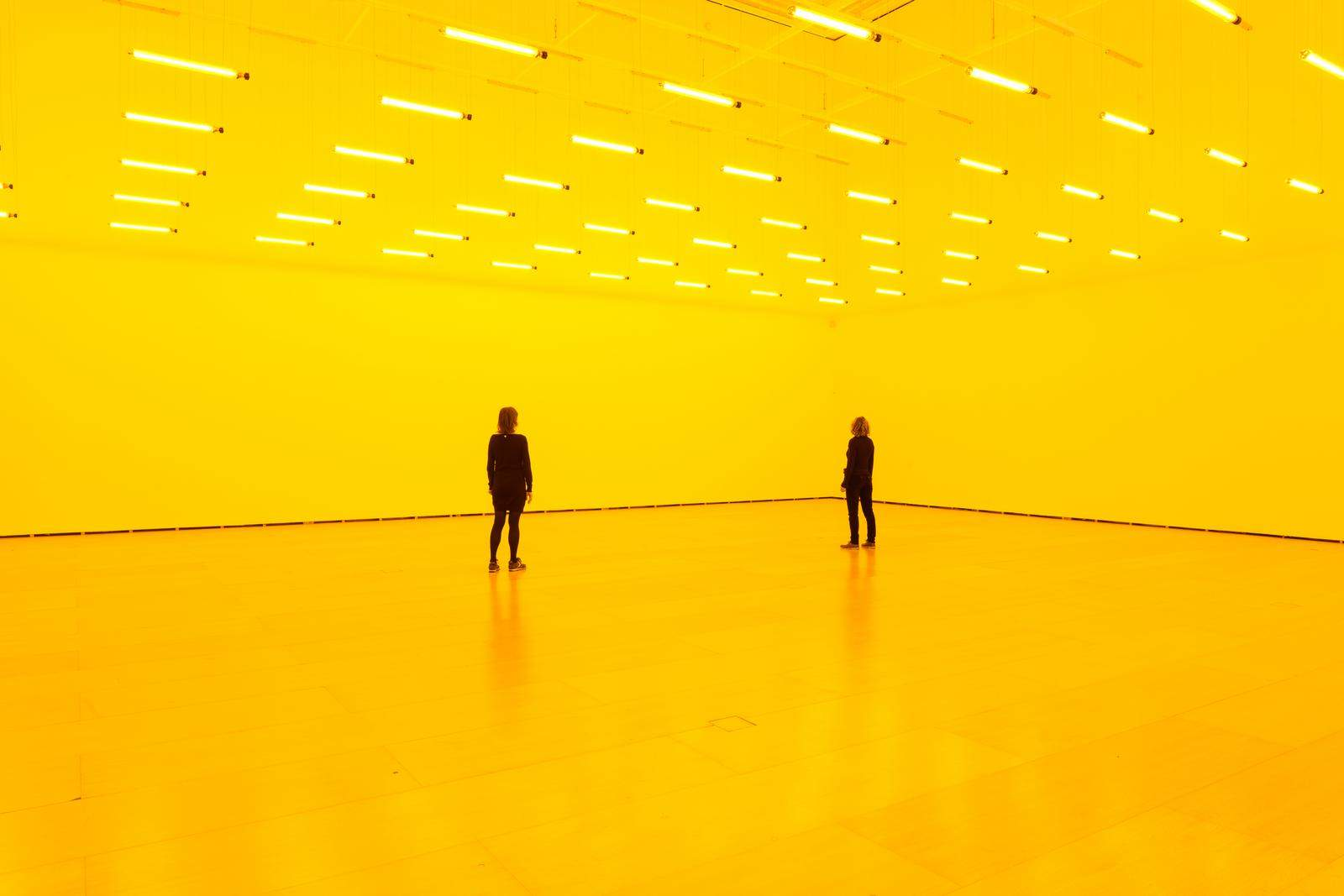 Room for one colour, 1997. Olafur Eliasson: En la vida real - Guggenheim Bilbao