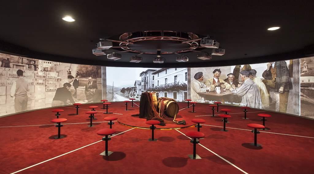 Audiovisual 360-1. Para empezar, un museo