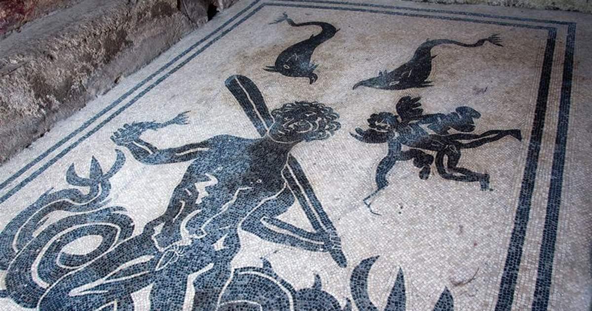 Las termas romanas que parecen un kamasutra