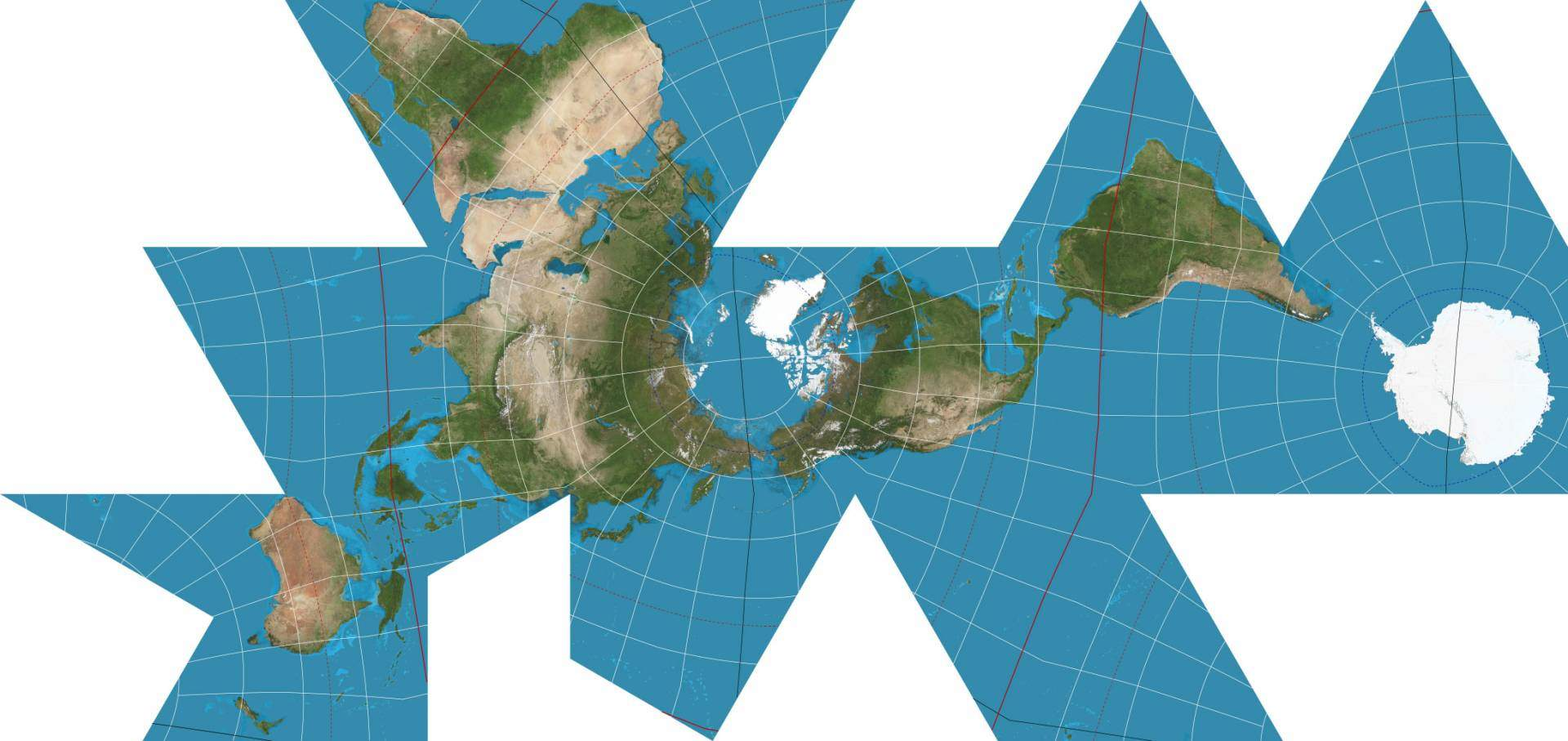 Dymaxion projection 0