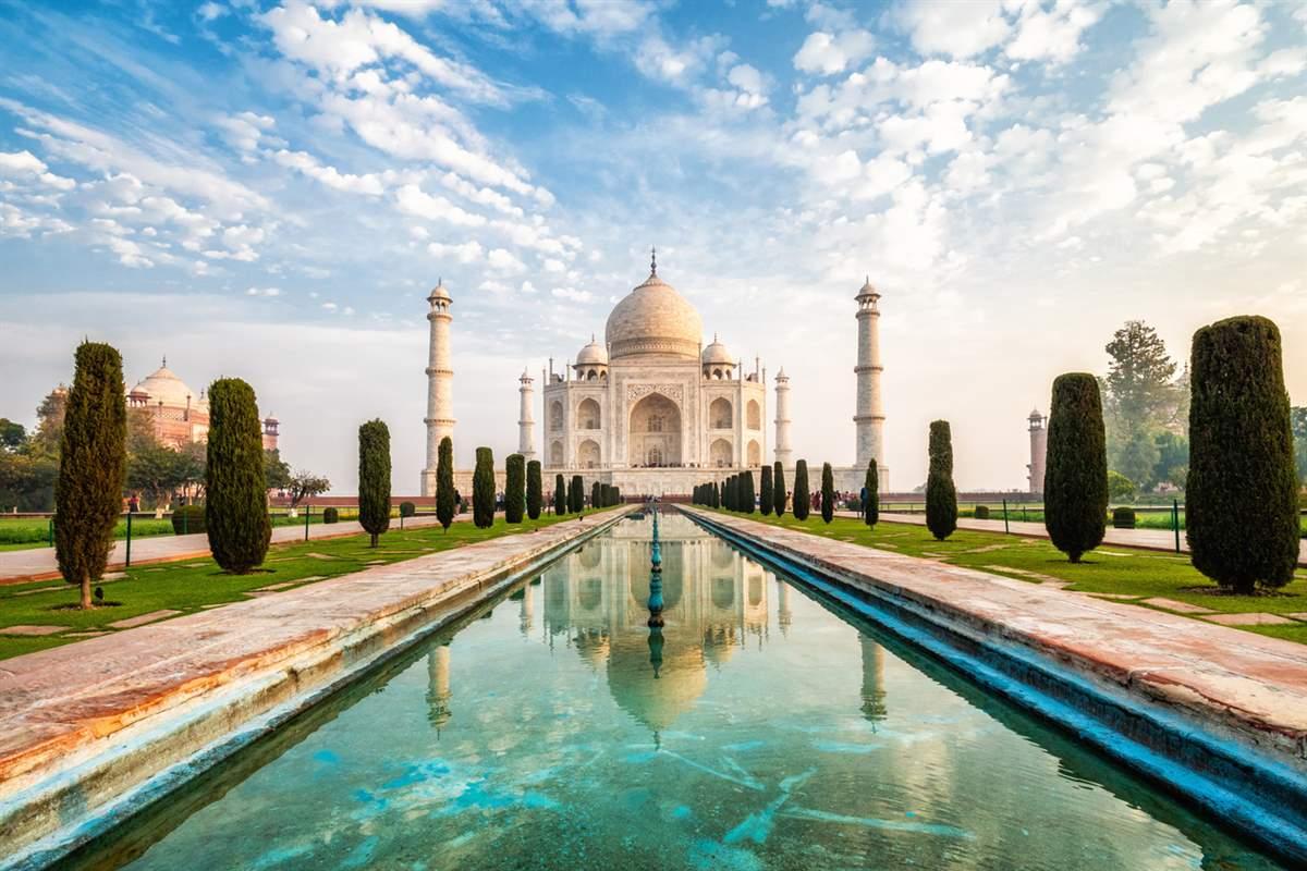 Vídeo: el Taj Mahal en 90 segundos