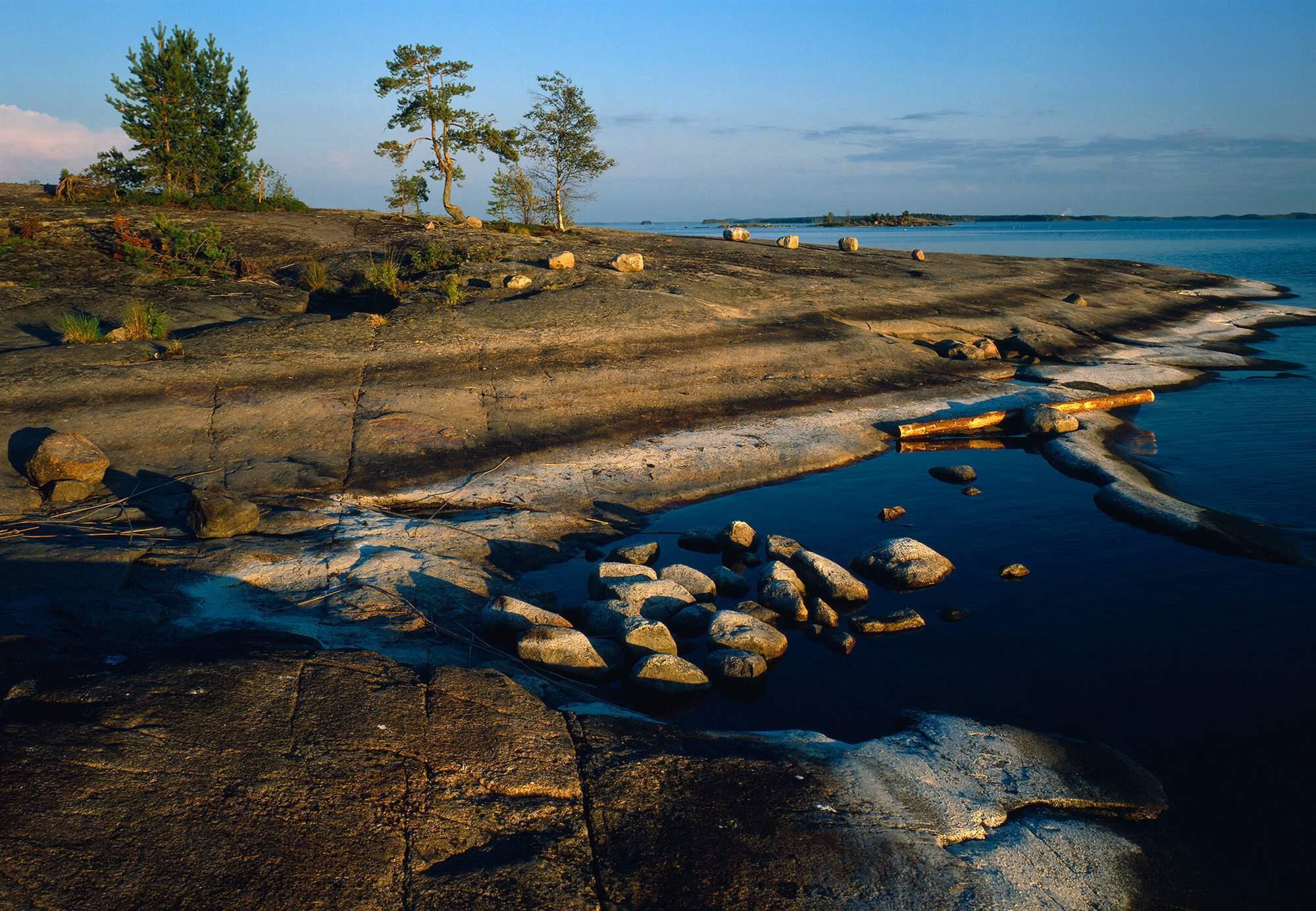Finland Saimaa Geopark Arto Hämäläinen SGP Kaitosaari . Saimaa, Finlandia